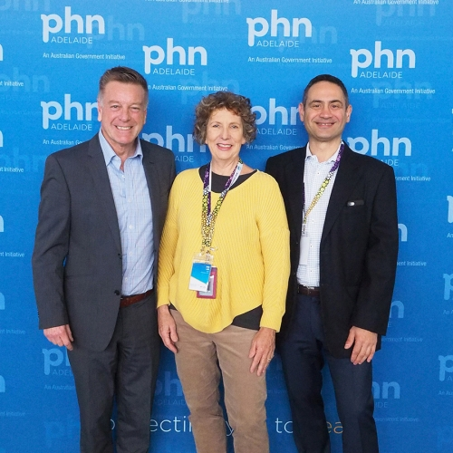 Deb_Lee_APHN_CEO_and_DR_Nick_Vlachoulis_APHN_Board_and_Mark_Aiston_Conference_MC